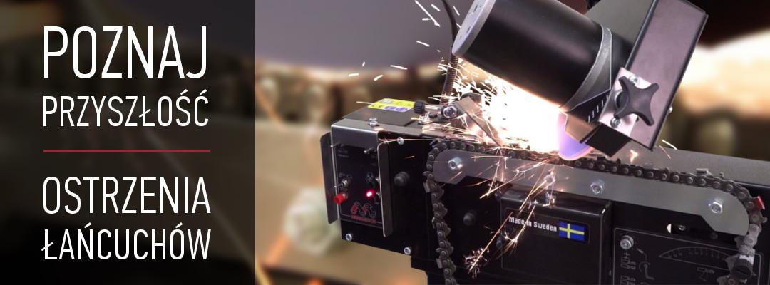 Automatyczne szlifierki do ostrzenia łańcuchów - Markusson Triplematic i Grindomatic