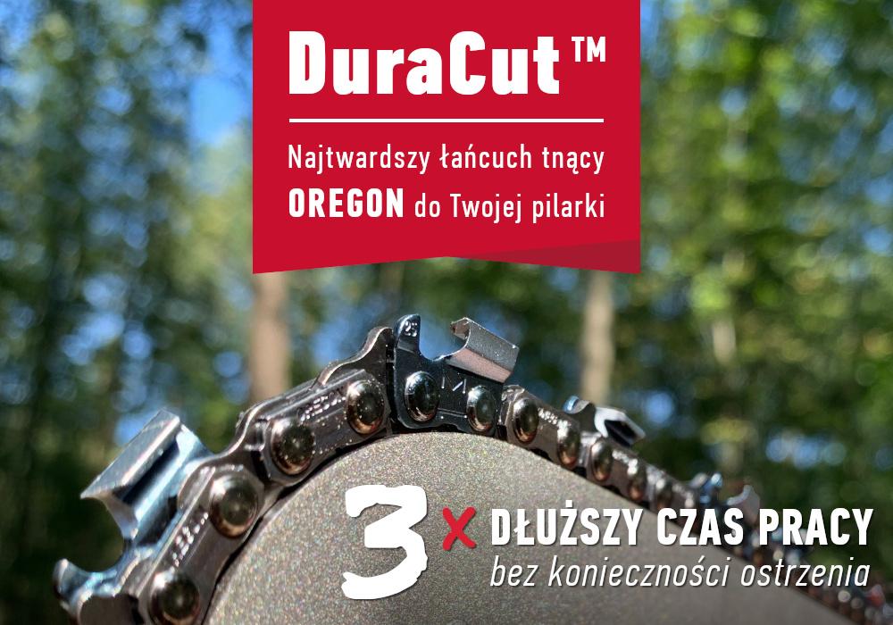 Łańcuch tnący do pilarki DuraCut – 3 razy dłuższy czas pracy bez konieczności ostrzenia