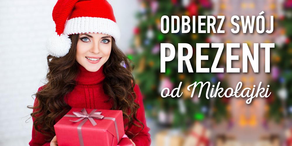 Odbierz Swój prezent od Mikołajki OREGON