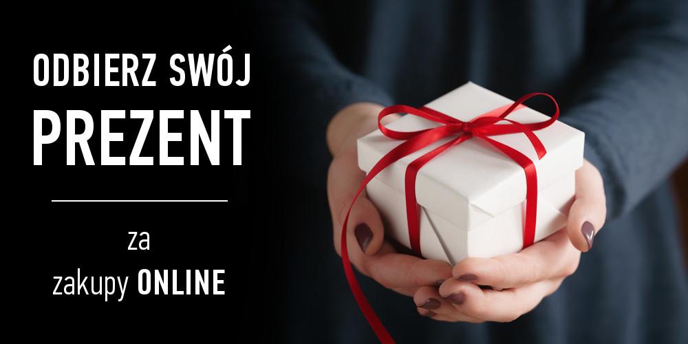Odbierz Swój prezent za zakupy ONLINE