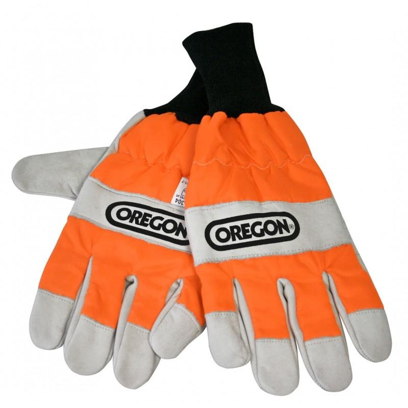 Rękawice ochronne dla pilarzy i operatorów kos i kosiarek