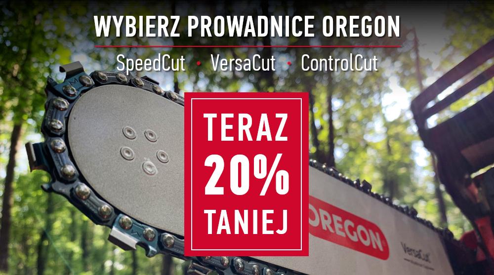 Wybierz prowadnice SpeedCut, VersaCut lub ControlCut i oszczędź 20%