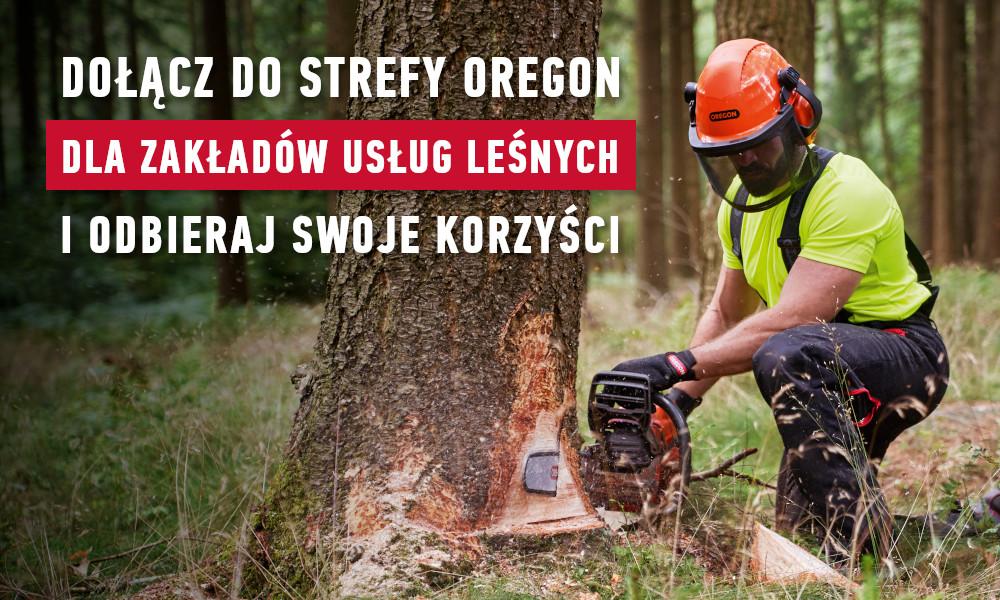 Strefa Oregon dla Zakładów Usług Leśnych