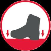 Antypoślizgowa podeszwa w butach roboczych OREGON