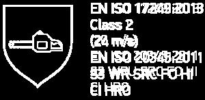 Klasa antyprzecięciowa 2 - europejskie normy bezpieczeństwa