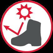 Izolacja cieplna butów dla operatorów pilarek