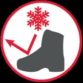 Skuteczna izolacja przed zimnem butów antyprzecięciowych dla pilarza