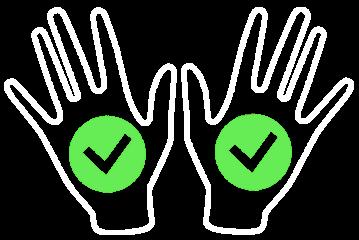 Ochrona antyprzecięciowa obu dłoni